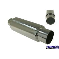Sport kipufogó dob TurboWorks 109 X'' 76mm be 101mm ki